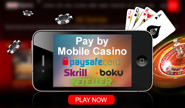 Get The Best Pay and Play with your Phone Bill Casinos